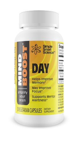 Top Nootropic Brain Health Supplement For Memory Improvement, Improved Concentration, And Sharper Focus + New Brain Health Formula & Vitamin. Mindboost Day