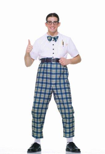 Forum Novelties Men's Fabulous 50's Class Nerd Costume, Multi, Standard