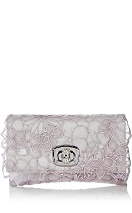 Floral Cutwork and Applique Clutch