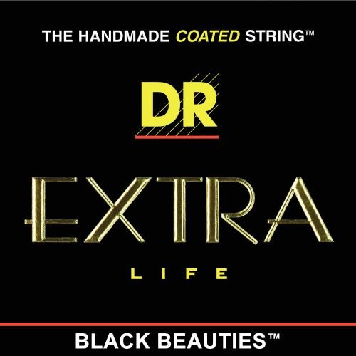 DR Strings Electric Guitar Strings, Black Beauties