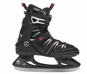 K2 F.I.T. Ice Boa Men's Ice Skates black red Size:38