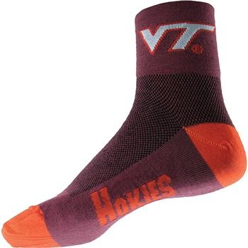 Hokies Quarter Socks