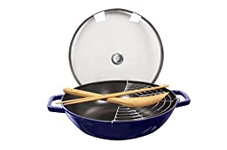 Staub Perfect Pan, Dark Blue, 12''