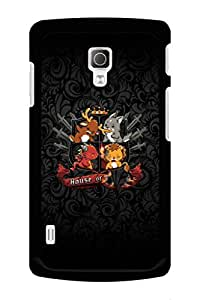 Caseque Game Of Thrones House Back Shell Case Cover for LG L72