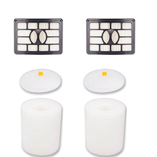 Filter & Foam Filter Kit by Han Shi for Shark Rotator Pro Lift-Away NV500 NV501 NV505 NV552 (NV500) (Shark Nv 501 Vacuum compare prices)