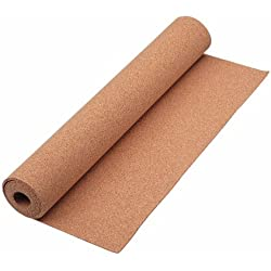 Quartet Cork Roll, Natural, Cork Strip, 24 x 48 Inches (103)