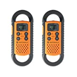 Motorola TLKR T3 Two Way Radio Twin Pack - Orangeby Motorola