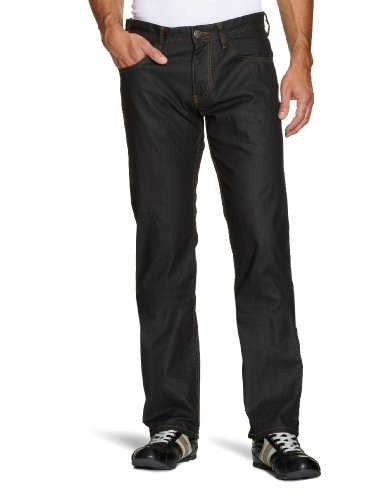 Tom Tailor Men's Coated Raw Jeans Blue W29 x L32