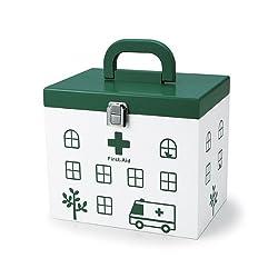 ウッデン WOODEN FIRST AID BOX 救急箱Lサイズ 856-101