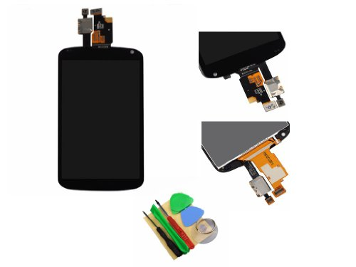 Lcd Touch Digitizer Screen Assembly For Lg Google Nexus 4 E960 With Tools