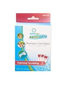HydroSurge Rapidbath Shampoo Cartridges for Dogs, Oatmeal Soothing