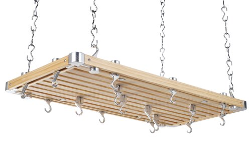Hahn Ceiling Rack Large Rectangular Wooden