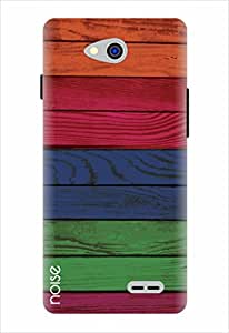 Noise Printed Back Cover Case For LG L90