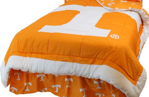 Ncaa Tennessee Volunteers King Bed Set Orange Cotton Bedding front-908289