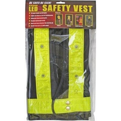 Reflective Safety Vest 16 Leds