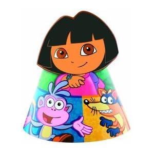 Dora birthday party hats!