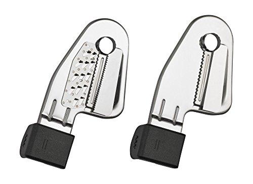 KitchenAid KSMAPC1AP Thin Blade Set for Spiralizer Attachment, Silver (Kitchenaid Peeler Set compare prices)
