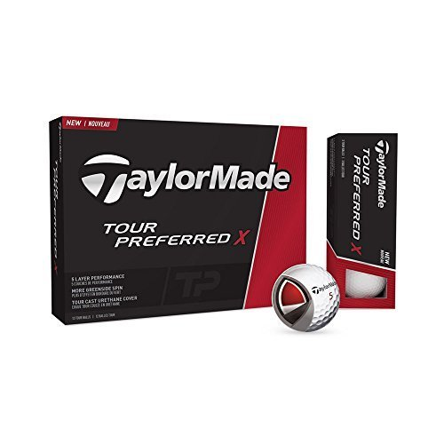 new-2016-taylormade-tpx-tour-preferred-x-5-piece-golf-balls-1-dozen