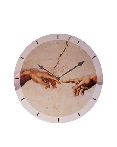 Artopweb Orologio Da Muro Michelangelo Creation Of Adam