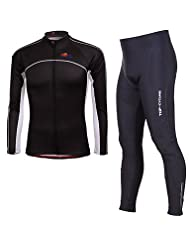 WQQ Long Sleeve Cycling Tights Breathable/High Breathability Quick Dry Cycling Suits
