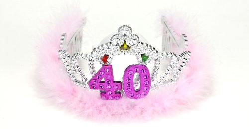 Forum Novelties Flashing Birthday Tiara #40 Novelty Item