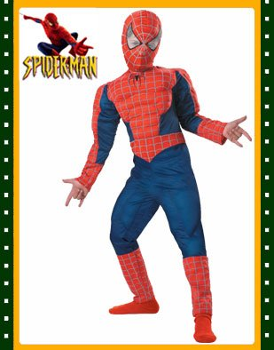 Child Deluxe Spiderman 3 Muscle Costume - Buy Child Deluxe Spiderman 3 Muscle Costume - Purchase Child Deluxe Spiderman 3 Muscle Costume (BlockBusterClearance.com, Toys & Games,Categories)