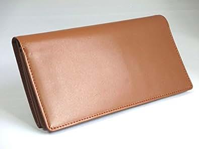 軽くてカードがたくさん入る長財布/キャメル
