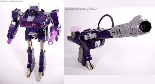 Transformers Shockwave Vintage Generation 1