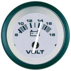 Teleflex 61548P DRIFTWOOD 2 VOLTMETER 8-18 VDC