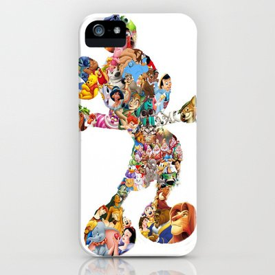 Society6/ソサエティシックス iphone5ケース  ミッキーマウス ディズニー Mickey Mouse Silhouette