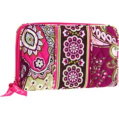 Vera Bradley Accordion Wallet in Very Berry Paisley