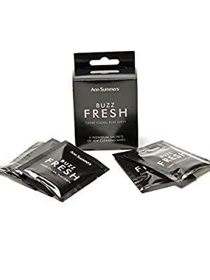 Ann Summers Womens Buzz Fresh Cleaning Wipes Hygienic Skin Friendly 5 Pack