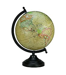 Globeskart Crayon Multicolour Desk and TableTop Political World Globe/ Educational Globe / Gift Item / Crayon Multicolour