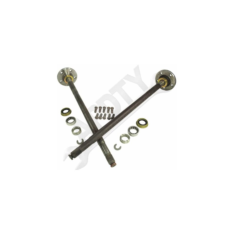 APDTY 4713193 & 4713192 Rear Axle Shaft Set For (Rear Left & Right Included)