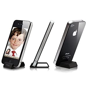 elago S4 Aluminum Stand for AT&T and Verizon iPhone 4 - Black