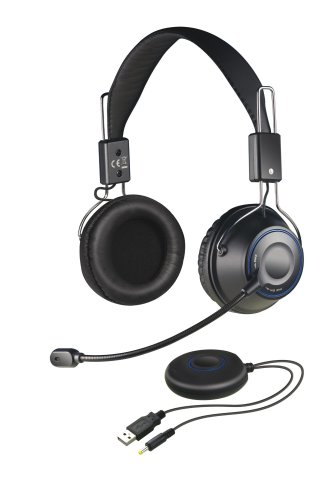 Creative HS-1200 X-Fi Digital Wireless Gaming Headset, schwarz