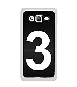 No 3 2D Hard Polycarbonate Designer Back Case Cover for Samsung Galaxy Grand Prime :: Samsung Galaxy Grand Prime Duos :: Samsung Galaxy Grand Prime G530F G530FZ G530Y G530H G530FZ/DS