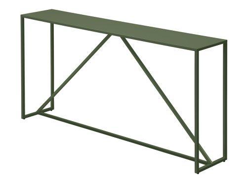 Cheap Strut Console Table in Dark Olive by Blu Dot (B0076ZSICE)