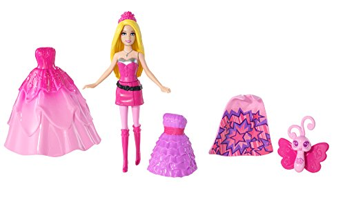 Barbie Princess Power Mini Doll Vinyl Bag Playset - 1