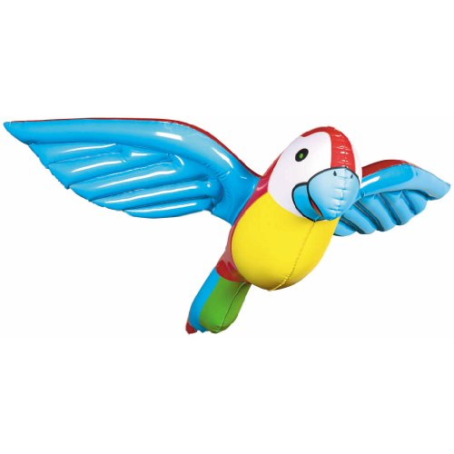 Inflatable Flying Parrot 23in (Parrot Party Supplies compare prices)