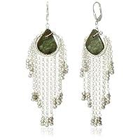 [アマンダ・ステレット] AMANDA STERETT 天然石フリンジデザインピアス F1413 Earrings