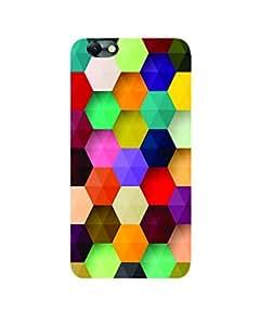 GripIt 3D Hexagon Printed Case for Lenovo Vibe C