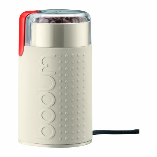 Bodum Bistro Electric Blade Coffee Grinder, Off White (Bodium Electric French Press compare prices)