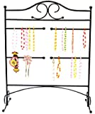 Mango Steam Jewelry Organizer for Hanging Bracelets, Black