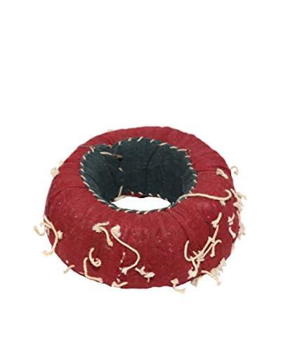 Uptown Down Indian Head Cushion, Multi
