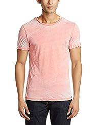 Jack & Jones Men's Crew Neck Cotton Blend T-Shirt