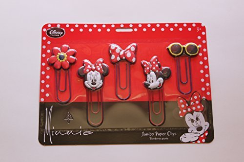 Disney Store Minnie Jumbo Paper Clips