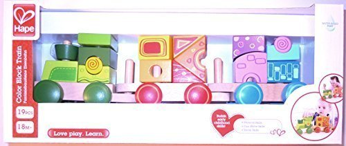 Hape Color Block Train