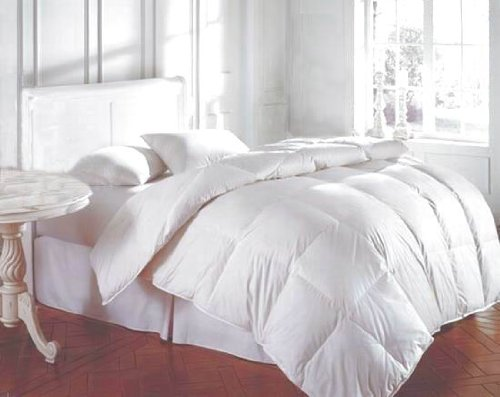 Bedding White Feather Down Bed Comforter - Twin