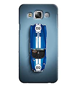 Blue Throat Printed Designer Back Cover For Samsung Galaxy Grand 3